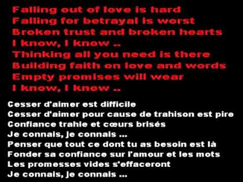 Impossible (paroles en anglais + français) de James Arthur