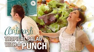 Tropical Salad With A Punch - Italian Salad Recipe