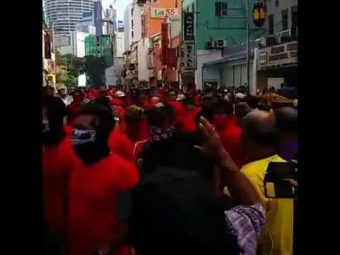 Bersih5.0 Red_T-shirt vs yellow malaysia 2016