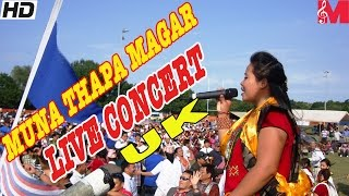 Muna Thapa Magar Live Concert in Uk