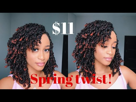 i-got-curly-spring-twists-with-bangs-for-$11!-|-nigerian-salon