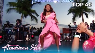 Cyniah Elise: 17-Year-Old Brings Some ATTITUDE To Hawaii @American Idol Final Judgement