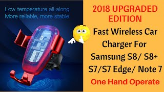 wireless charger car mount review (2018 Edition) - wireless charger car mount review (2018 Edition)