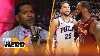 Jim Jackson unveils why Ben Simmons doesn't need LeBron, Talks King James to Lakers | THE HERD