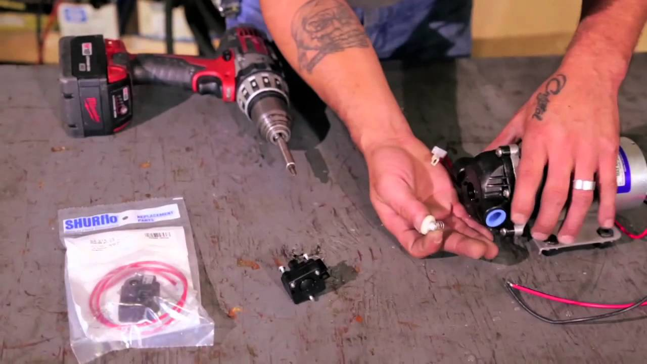maxresdefault replacing a shurflo pressure switch youtube