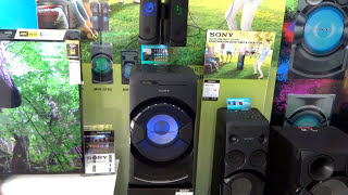 Sony MHC-GT4D Hifi Sound System Display Demo