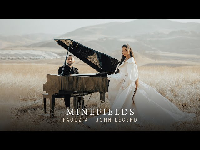Faouzia & John Legend - Minefields (Official Music Video)