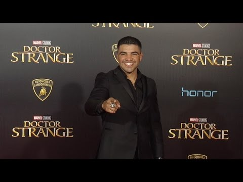 "Victor Ortiz ""Doctor Strange"" World Premiere Red Carpet"