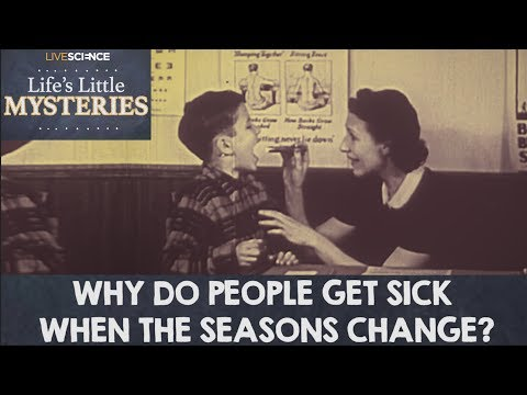 Why Do People Get Sick When the Seasons Change?