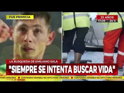 Se encontró un cuerpo en el avión que llevaba a Emiliano Sala