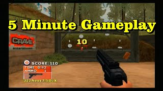 5min gameplay: NRA Gun Club PS2