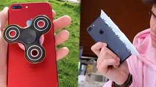 BEST DIY iPhone HACK EVER (Fidget spinner pop socket!)