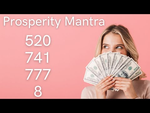 Grabovoi Numbers - Prosperity Mantra - 520 741 777 8