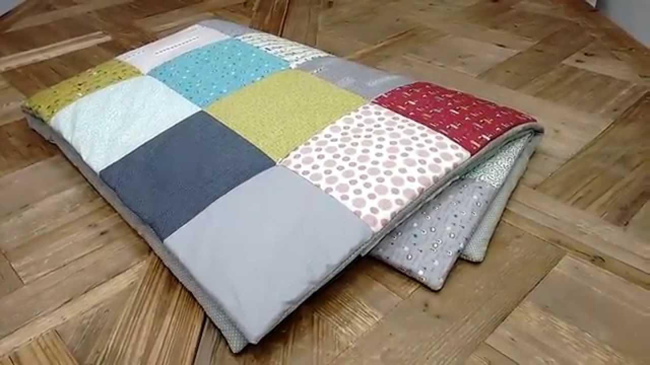 Tutoriales patchwork como terminar una colcha sin bies muy r pido youtube - Como hacer pachwork ...