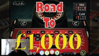 £315 in 15 mins!!! - Road To £1000 With Labouchere Roulette (Part 1)