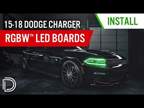 How to Install 2015-2018 Dodge Charger RGBW™ LED Boards | Diode Dynamics
