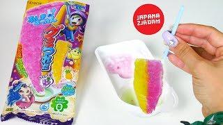 Magiczne dwukolorowe żelki łowione na wędkę - Japana zjadam #136   Agnieszka Grzelak Vlog