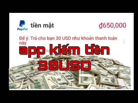 App kiếm tiền online paypal 30USD siêu ngon App make money online paypa#5l 30USD super delicious