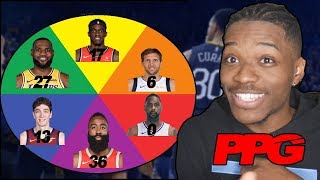 WHEEL OF POINTS PER GAME REBUILDING CHALLENGE IN NBA 2K19