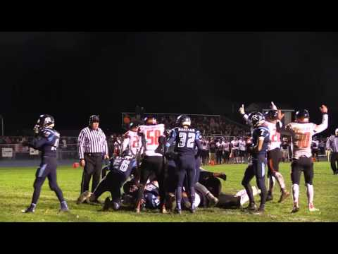Almont vs. Richmond - 2016 Division 5 Football Playoff Highlights on STATE CHAMPS!