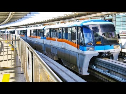 Riding the Tokyo Monorail