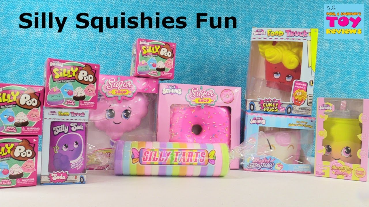 Silly Squishies Squishy Palooza Poo Curly Fries Tarts