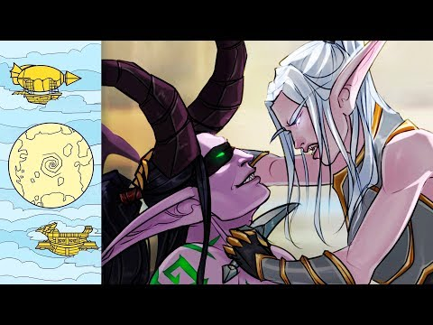Самые-самые истории любви в Warcraft | Оплачено гоблинами