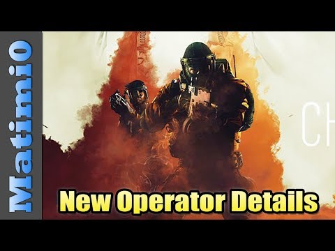 New Operator Details - Rainbow Six Siege - Year 3