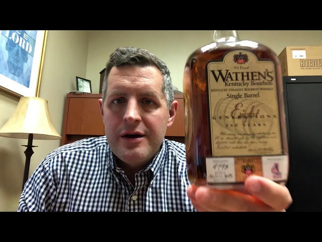 Wathen's Single Barrel  4798