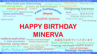 Minerva   Languages Idiomas - Happy Birthday