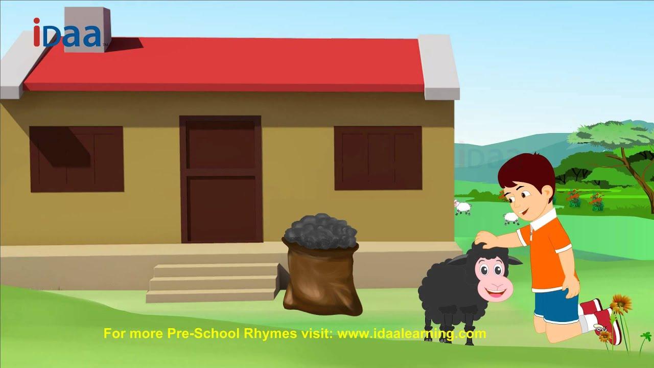 Baa Baa Black Idaa Preschool Kids Rhymes Hd Version