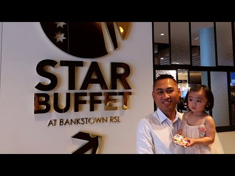FAMILY VLOG: Lunch At Star Buffet - Bankstown RSL  | Sydney, Australia