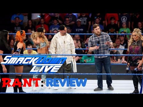 RANT: WWE SMACKDOWN 6/20/17 SUCKS WOMAN'S MONEY ON THE BANK TALK REACTION REVIEW AND RESULTS