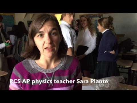 "Roanoke Catholic School's AP Physics ""Egg Drop"""