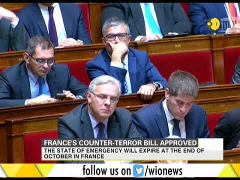 France's National Assembly votes to adopt a counter-terrorism bill