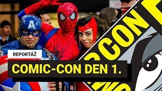 REPORTÁŽ: Comic-Con 2019 v San Diegu, den první