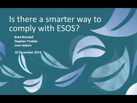 Is there a smarter way to comply to ESOS?