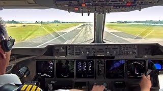 Martinair MD-11 Take-Off Amsterdam Schiphol - Cockpit View