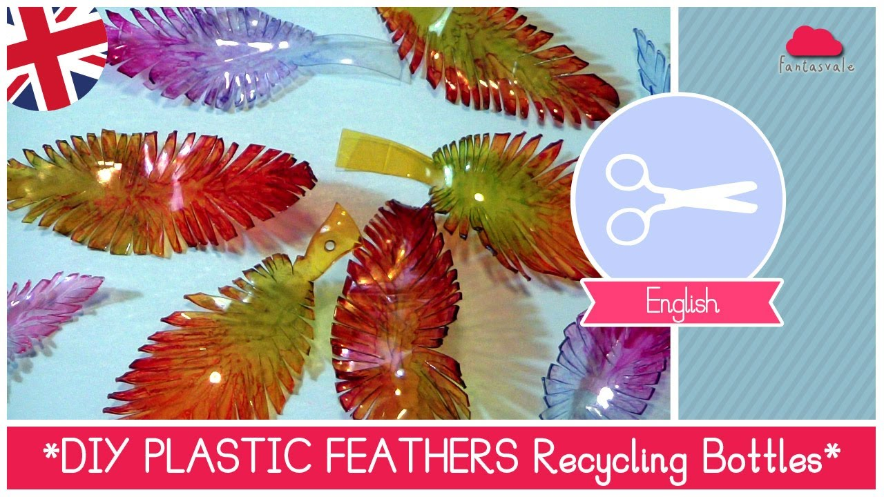 Plastic bottles recycling ideas recycled things - Recycling Plastic Bottles To Make Feathers Diy Ideas By Fantasvale