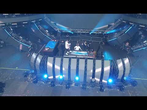 Showtek Live at Ultra 2017 (Drone Footage) (4k 60FPS)