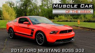 Ford Mustang Boss 302 2012 Videos