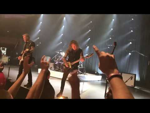 Hands Down Best Footage Feb 2017 Metallica Show at Palladium Hollywood