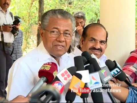 Pinarayi Meets Oommen Chandy