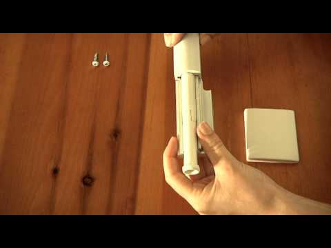 patio door guardian how to install with keeper plate