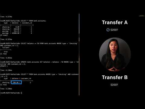 Cockroach University: Transaction Syntax