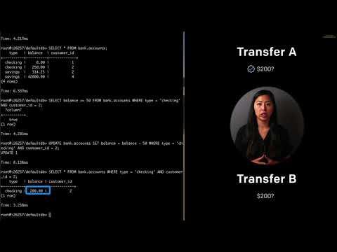 Cockroach University: Transaction Syntax