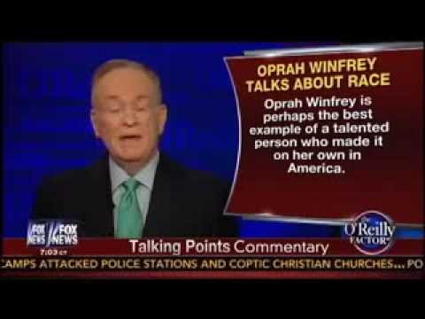Bill O'Reilly Gives Oprah Some Advise, Tells Her 'Ignore' Racism - August 14, 2013