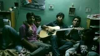 tumse milne ki tamanna n pahli baar mile hain...combo with guitar n friends...@my AMU hoste days