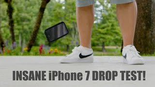 Iphone 7 drop test: does it survive 25ft?