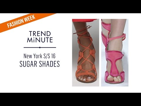 Trend Minute: New York S/S 16 – Sugar Shades